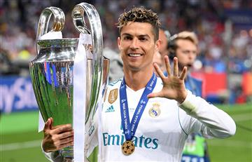 Cristiano Ronaldo igualó a Di Stefano con un quinto título