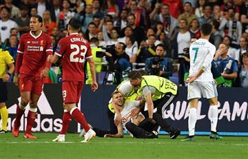 Real Madrid vs Liverpool: el gol frustrado de Cristiano Ronaldo, por culpa de un hincha