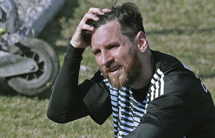 Lionel Messi no ve a Argentina campeón del Mundial Rusia 2018. Foto: AFP