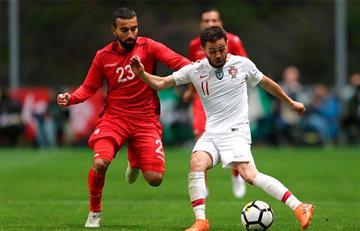 Portugal extrañó a Cristiano Ronaldo frente a Túnez