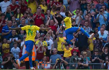 Neymar: revive su golazo con Brasil en el amistoso frente a Croacia