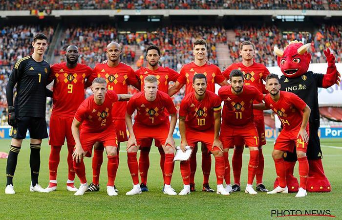La Selección de Bélgica presentó su lista de 23 de cara a la Copa del Mundo. Foto: Twitter