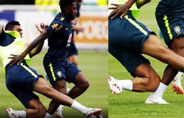 Rusia 2018: Casemiro lesionó a Fred durante entrenamientos y es duda para Brasil