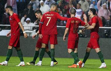 Rusia 2018: Portugal goleó a Argelia y ya piensa en su debut en la Copa del Mundo