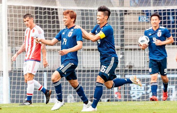 Japón vs Paraguay. Foto: EFE