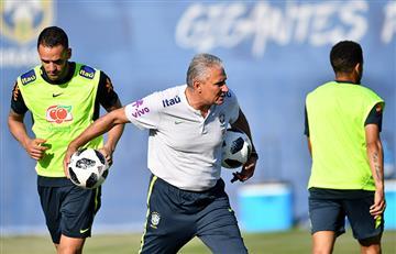Mundial Rusia 2018: Tite confirmó el once titular de Brasil