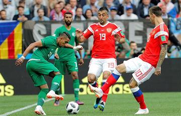 Rusia vs Arabia: ¿Quién dio el saque inicial al primer partido de Rusia 2018?
