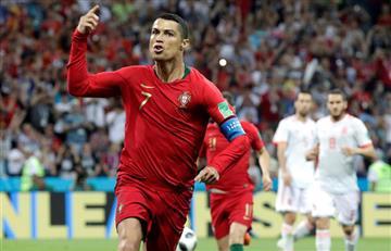 Cristiano Ronaldo: su golazo de tiro libre en el Portugal vs España