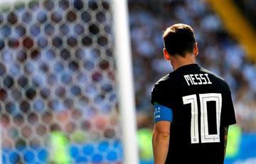 Argentina no pasó del empate con Islandia en su debut en Rusia 2018