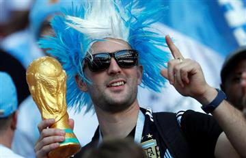 Argentina vs Islandia: las mejores postales de los hinchas en el Otkrytiye Arena