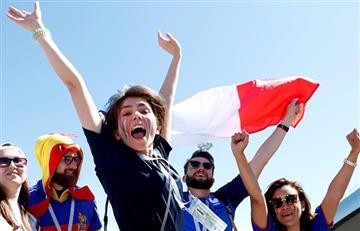 Francia vs Australia: así vivieron los hinchas el partido en Rusia 2018