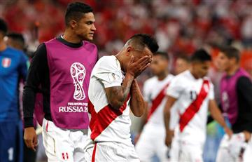 Perú cayó 1-0 ante Dinamarca en su debut en Rusia 2018