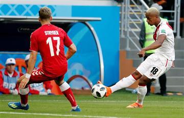 Perú vs Dinamarca: revisa las principales jugadas del partido del debut de la 'bicolor'