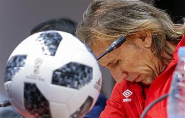 Ricardo Gareca y su declaración tras derrota de Perú ante Dinamarca