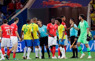 Brasil no pudo ante Suiza en su debut en el Mundial Rusia 2018