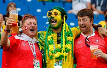 Brasil vs Suiza: Así se vive el encuentro desde las tribunas