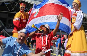 Costa Rica vs Serbia: mira las mejores postales que dejaron los hinchas en las tribunas