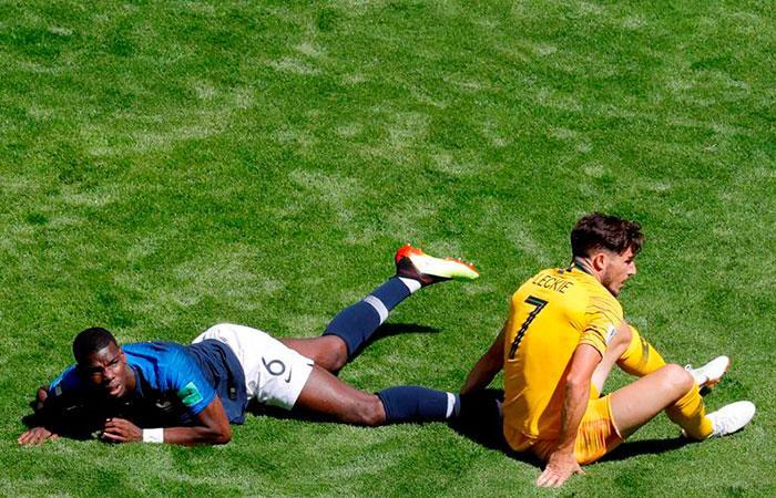Paul Pogba: FIFA le quitó gol que anotó frente a Australia