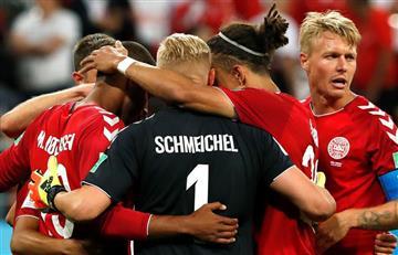 Jugadores daneses tuvieron noble gesto con compañero por el Día del Padre