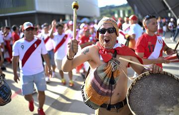 Selección Peruana: 'banderazo' de los hinchas en Rusia tras el entrenamiento de este lunes