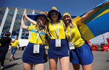 Suecia vs Corea del Sur: mira las mejores postales de los hinchas en las tribunas