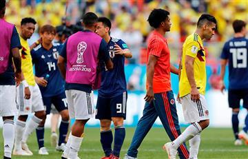 Colombia se tomó un 'café amargo' ante Japón por el Mundial Rusia 2018