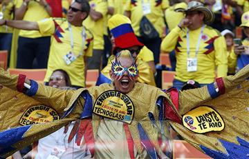Colombia vs Japón: así se vivió la fiesta mundialista desde las tribunas
