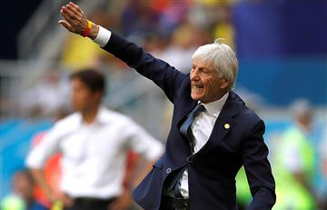 José Pekerman destacó la actuación de la Selección Colombia, pese a caer