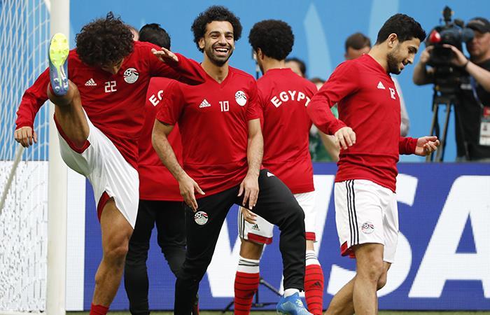 Mohamed Salah fue confirmado en el once titular ante Rusia