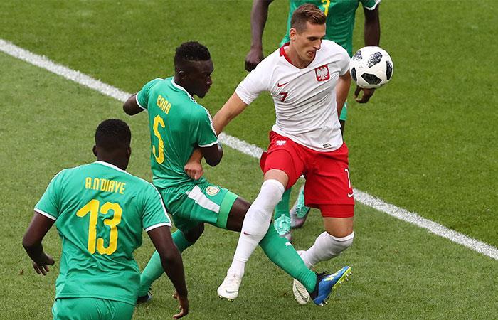 Polonia vs Senegal: Mira las mejores jugadas de este encuentro