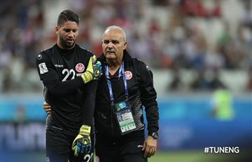 Rusia 2018: arquero titular de Túnez abandonó el Mundial por lesión en el hombro