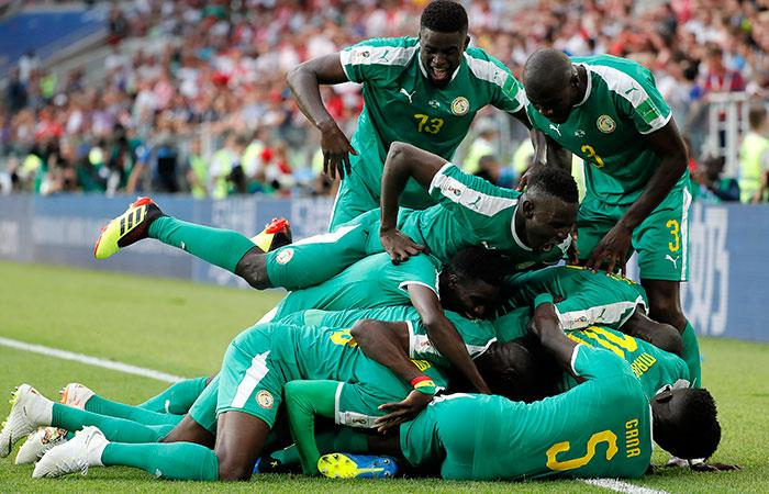 Senegal sorprendió a Polonia por el Mundial Rusia 2018