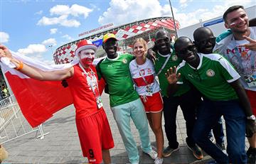Senegal vs Polonia: Así se vivió el encuentro desde las tribunas