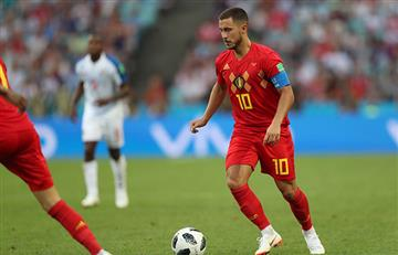 Eden Hazard confiesa su ambición personal para el Mundial Rusia 2018