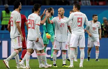 España sufrió para ganarle a Irán en el Kazán Arena por el Mundial Rusia 2018
