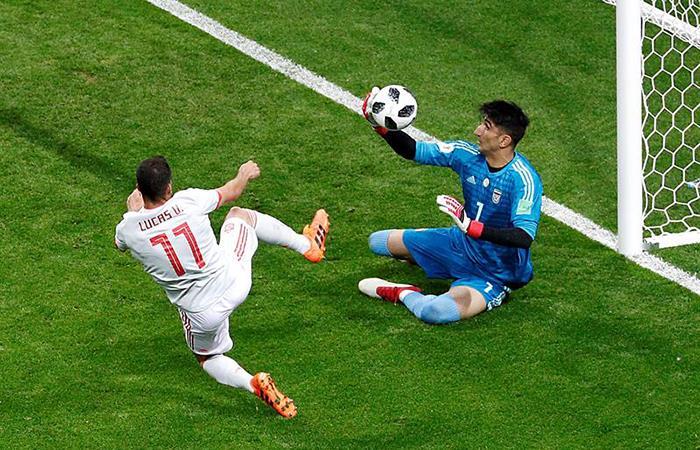 Irán vs España: estas son las jugadas más destacas del partido