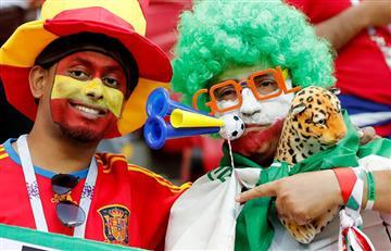 Irán vs España: mira las mejores postales de los hinchas