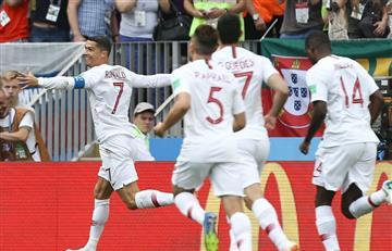 Portugal venció a Marruecos con gol de Cristiano Ronaldo