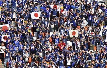 Rusia 2018: el video viral de los hinchas japoneses en el Mundial