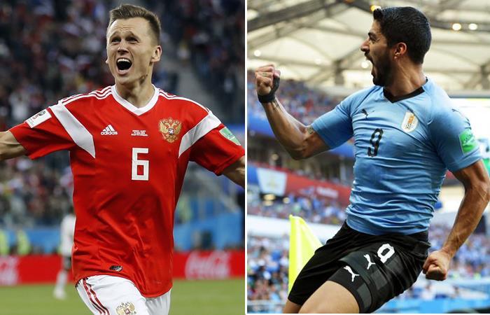 Resultado de imagen para uruguay rusia