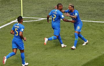 Brasil venció a Costa Rica y obtuvo sus primeros tres puntos en el Mundial Rusia 2018