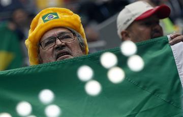 Brasil vs Costa Rica: así se vivió la 'fiebre' del Mundial en las tribunas