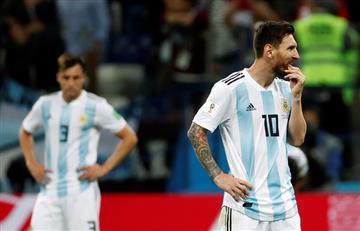 Mundial Rusia 2018: así quedó la tabla del Grupo de Argentina