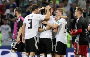 Alemania vence agónicamente a Suecia y sigue con vida en el Mundial Rusia 2018