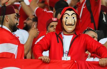 Bélgica vs Túnez: mira la fiesta que se vivió en las tribunas