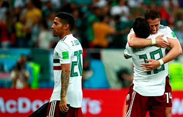 México derrotó a Corea del Sur y está a un paso