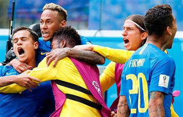 Partido Brasil contra Costa Rica récord de audiencia en televisión brasileña