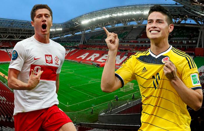 Polonia vs Colombia (Foto: EFE)