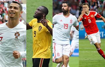 Rusia 2018: Así se mueve la tabla de goleadores en al fase de grupos
