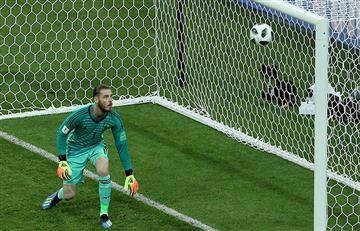 Rusia 2018: David de Gea es el único portero sin atajadas en el Mundial